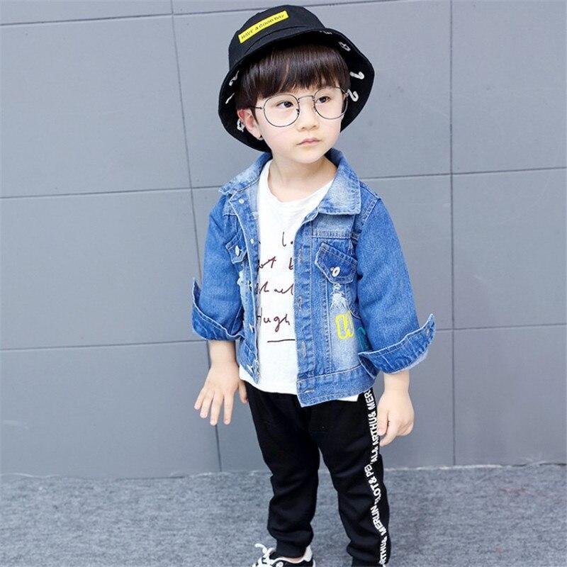 Zoe Saldana 2018 Kid Clothing Unisex Boys Baby Dziewczyny Denim - Ubrania dziecięce - Zdjęcie 4
