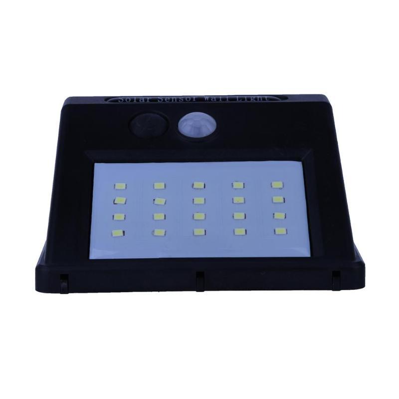 LED Solar Power PIR Motion Sensor Licht Im Freien Wasserdichte Wand Nacht Lampe