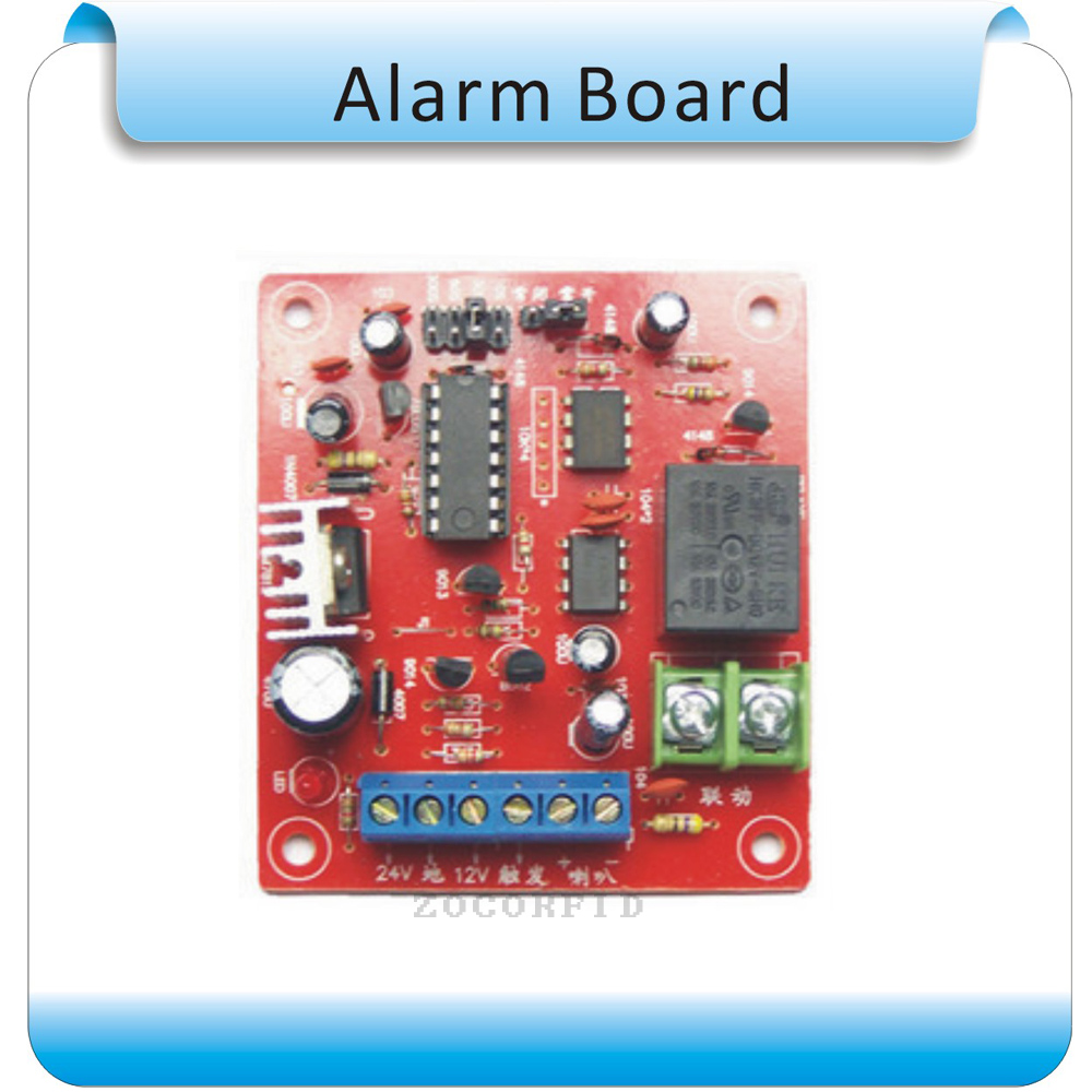 Free shipping DIY 9-36V alarm system Integration Module Alarm Voice Sound control board Module +alarm speaker itead gsm gprs sim900 free shipping development and learning module and integration board icomsat need 9v 2a supply