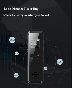 Image 5 - Enregistreur Audio à longue Distance, Micro enregistreur numérique activé par la voix Dictaphone, réduction du bruit du lecteur MP3, enregistrement WAV
