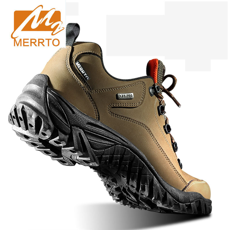 4223310b8 MERRTO Hiking Shoes Low Cut Boots Outdoor Sneakers Athletic Sport Shoes Man  Professional Mountain Climbing Trekking