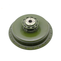 Ural CJ K750 retro motorcycle Green army color front ,rear,side car wheel rim hub case For BMW R50 R1 R12 R 71