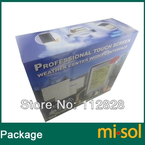 misol / Professional Wireless Weather Station Jutiklinis skydelis su - Matavimo prietaisai - Nuotrauka 5