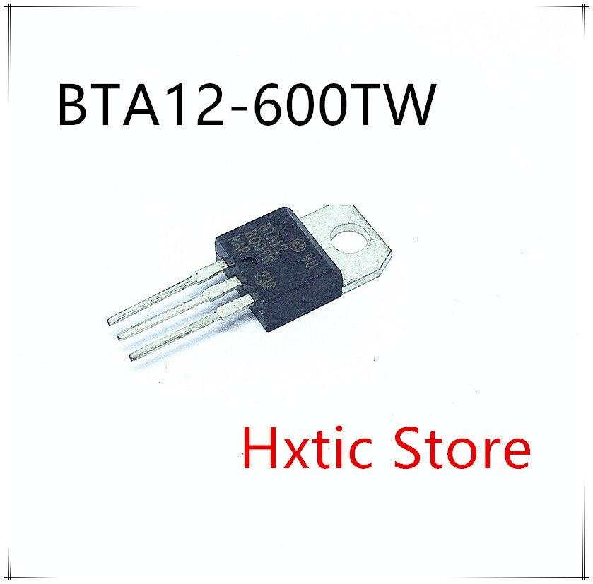10pcs New BTA12-600B BTA12-600 BTA12 12A Triac 600V ST TO-220