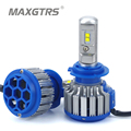 2x H1 H3 H7 H8 9005 9006 70W Car Led Headlight Conversion Kit EMC Canbus No error Auto DRL Front Fog Light Repalcement Bulb