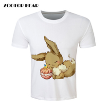 ZOOTOP BEAR Vibrant Cute Pokemon Eevee T shirt