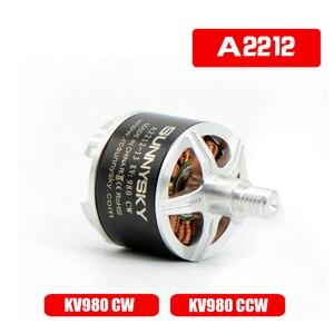 SUNNYSKY A2212 KV980 Outrunner sin escobillas del Motor W/auto-bloqueo tornillo-CW/CCW para multicóptero con radio control