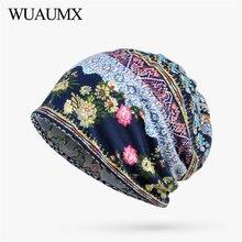 Wuaumx Spring Summer Beanies Hats For Women Thin Cotton Skullies