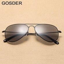 Gosder Fashion Ultralight Reading glasses Driving Sunglasses