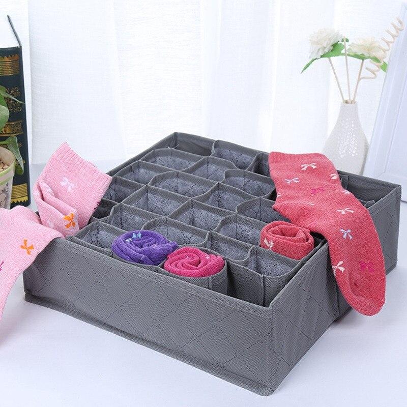 Big Sale] Unibird 4Pcs/Set Underwear Storage Box Bra Clothing Socks