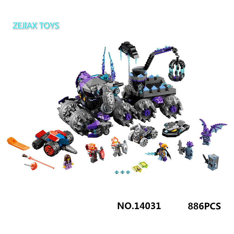 Next Cavalier Jestro's Headquarters Lepines Buildable Block Joker Nexus Knights Lance Macy Figures Brick 70352 Boys Toys 2017 next cavalier nexus knight the stone colossus of ultimate destruction building block joker jestro figures lepine 70356 toys