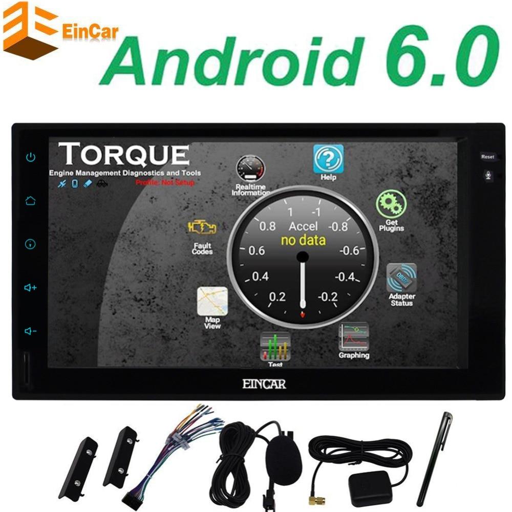 Android 6.0 <font><b>Car</b></font> Multimedia Player <font><b>Car</b></font> PC Tablet Double 2 din GPS Navigation <font><b>Car</b></font> gps Stereo Radio wifi Bluetooth NO DVD cd player