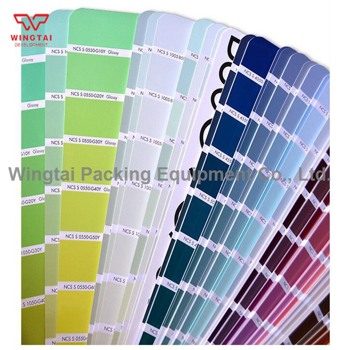 Sweden Ncs Color Chart G 1 Semi Glossiness Portable Color Shade Card