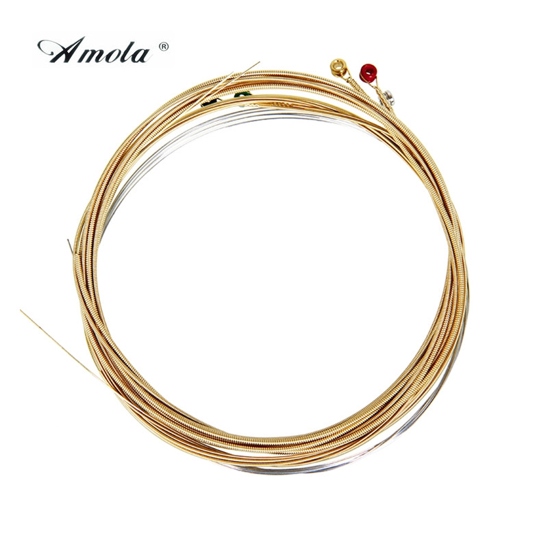 Amola A900 85/15 Bronze Great Extra Light Acoustic Guitar Strings 010-050 2pcs