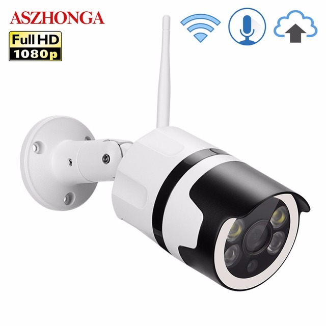 2MP Mini Home Security Wifi Camera Outdoor 1080P HD Wi-Fi IP Camera Waterproof Bullet CCTV IR Night Vision Surveillance Cam