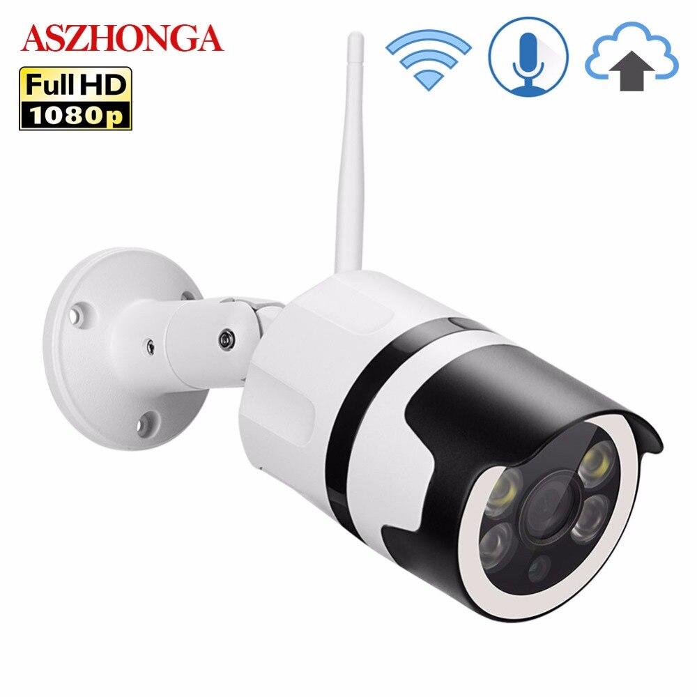 2MP Mini Home Wifi Security Camera Outdoor 1080P HD Wi-Fi IP Camera Waterproof IR Night Vision CCTV Surveillance Bullet Cam