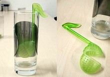 novelty Music symbol spoon with Tea Strainer Note/Tadpole /Stirrer/Spoon/Infuser,filter DHL fedex EMS