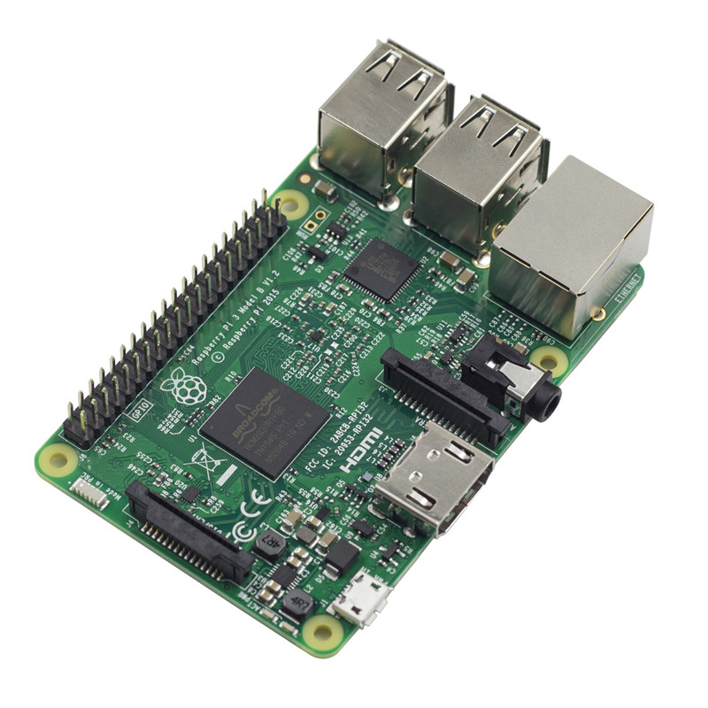SunFounder Raspberry Pi 3 Model B Quad Core 1.2GHz 64bit CPU Third Generation Raspberri pi 3 raspberry pi 3 model b 1gb ram quad core 1 2ghz 64bit cpu wifi