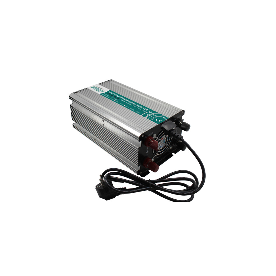 M2000-242G-C modified LED sine wave professional dc/ac 2000 watt power inverter 24v to 220v electricaI inverters with charger mkm2000 242g c modified sine wave professional dc ac 2000 watt power inverter 24v to 220v electrical inverters with charger