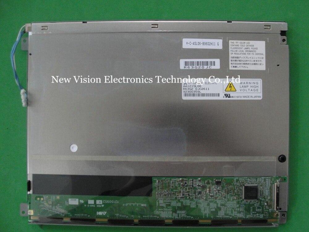 AA121SL06 Original 12 1 inch 800 600 CCFL TFT Replacement LCD Screen Module for Mitsubishi