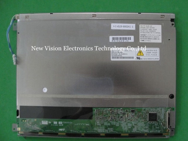 AA121SL06 Original 12.1 inch 800*600 CCFL TFT Replacement LCD Screen Module for Mitsubishi