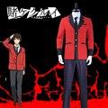 Kakeguurui: компульсивный гамблер Manyuuda Kaede Suzui Ryota Косплей Костюм на заказ мужская униформа красная куртка брюки с принтом рубашка галстук