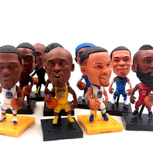 6.5cm Basketball Super Star Player Lovely Action Figure Model Toys Fans Collection DIY Doll Gift Kobe James Curry Durant Harden