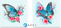Embroidery DIY 5D Diamond Painting Butterfly Diamond Cross Stitch Landscape Mosaic Picture Of Rhinestone Drill Home
