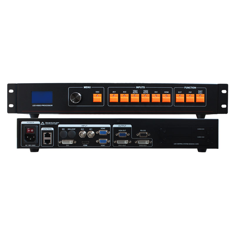 hdmi video processor led seamless switcher led screen controller lvp506 video led screen lcd led display