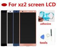 Reemplazo de montaje completo de Digitalizador de pantalla táctil de pantalla LCD Original de 5 7 pulgadas para Sony Xperia XZ2|Pantallas LCD para teléfonos móviles| |  -