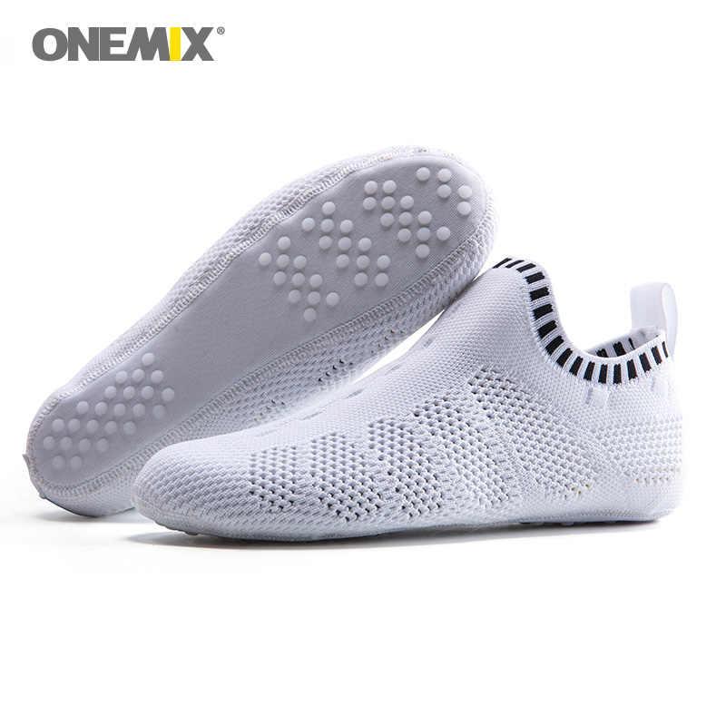 ONEMIX Men โยคะกีฬาถุงเท้าผู้หญิงแสงตาข่ายยิมเต้นรำรองเท้าในร่มรองเท้าผ้าใบศิลปะการต่อสู้คาราเต้ Sandal 8