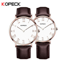 Kopeck Lover Watch New Fashion Casual Watches For Men Women Ladies Dress Leather Strap Analog Wristwatches Relogios Reloj Horlog