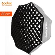 """Godox Portable 80 cm 32 """"nid dabeille grille parapluie Photo Softbox réflecteur pour Flash Speedlight grille seulement"""