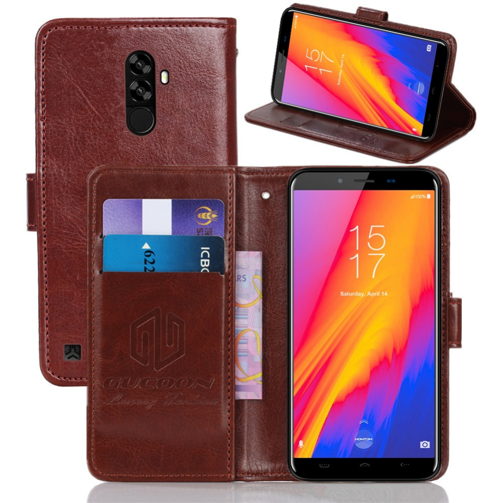 GUCOON Vintage Wallet Case for HOMTOM S99 S99i 5.5inch PU Leather Classic Book Flip Cover Magnetic Fashion Cases(China)
