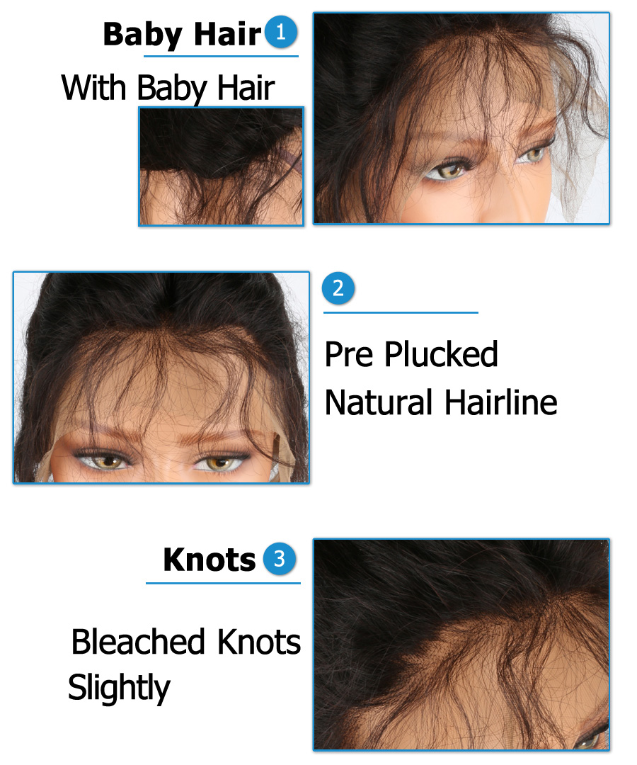 short human hair wigs for black women bob wig lace front wigs (1)