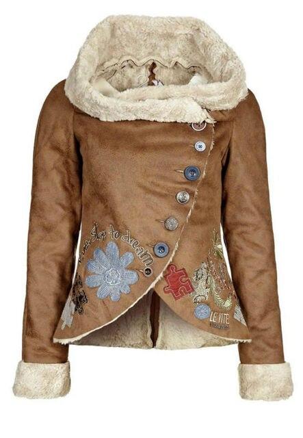 Manteau beige desigual