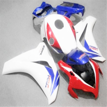 Injection white red blue HRC for CBR1000RR 08 09 10 11 CBR1000 08-11 CBR 1000RR 2008-2011 1000 RR 2008 2009 2011 fairing kit image