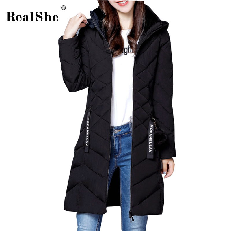 spencer calculating human resource costs & benef its cutting costs & increasing productivity Realshe 2017 Winter Long Down Jacket New Light Feather Pocket Ribbon Slim Women Costs Female Thicken Warm Hoodies Parkas