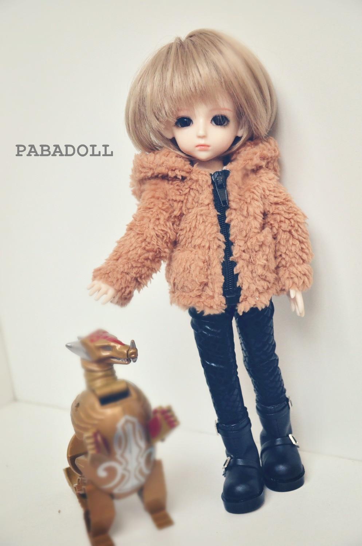 1//6yosd OB22//24//26 BJD Clothes Raincoat Hoodie Frog//Dinosaur for BJD Doll Cute