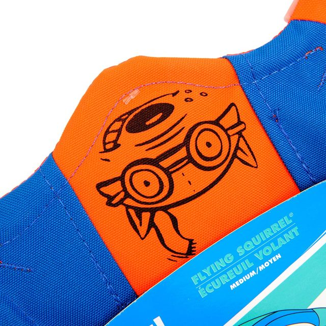 HOOPET Dog Four Corners Flying Discs Canvas Material Interactive Toys Puppy Large Dogs Pet Toy Blue And Orange Color