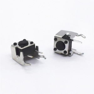 100pcs DIP 6*6*4.5mm Tactile Tact Push Button Micro Switch Momentary Vertical Push 6x6x4.5mm