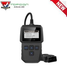 Topdon ArtiLink AL200 OBD2/EOBD Car Code Reader Scanner Professional OBD 2 Auto Diagnostic Scan Tool Turn Off MIL Error Code
