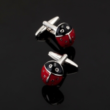 XK110 High quality fashion men's business Cufflinks animal insect beetle Cufflinks Shirt Mens Clothing accessories