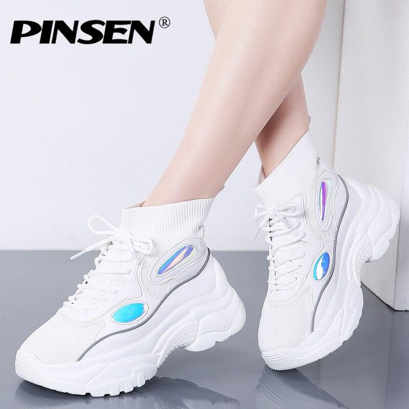 PINSEN 2020 Fashion New High Top