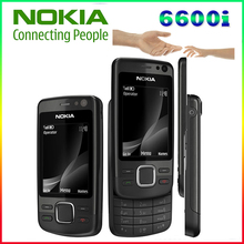 6600i 100% original phone Nokia 6600I refurbished cell phone  Black color in Stock Freeshipping