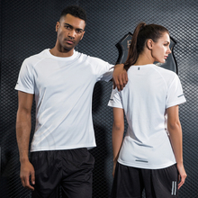 Gym Clothing Bodybuilding font b Fitness b font Men Women basketball Running t shirt Quick dry