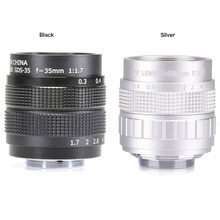 Fujian Soporte de lente C CCTV, 35mm f1.7, de alta calidad, para Sony NEX 5, NEX 3, NEX 7, NEX 5C, NEX
