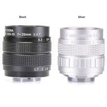 Hohe qualität Fujian CCTV 35mm f1.7 Objektiv C Halterung Für Sony NEX 5 NEX 3 NEX 7 NEX 5C NEX C3 NEX