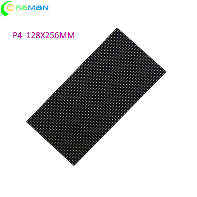 HD 64x32 Led Display Module Dot Matrix P4 Smd Led Module Black Lamp 256*128mmp6p7.62p3p4 P5 Indoor Led Display