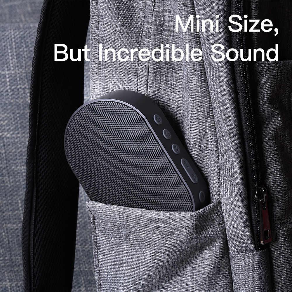 سماعة بلوتوث محمولة GGMM E2 سماعة لاسلكية 10 واط مزودة بمكبر صوت صغير للغاية للموسيقى ستيريو باس للسفر في الهواء الطلق